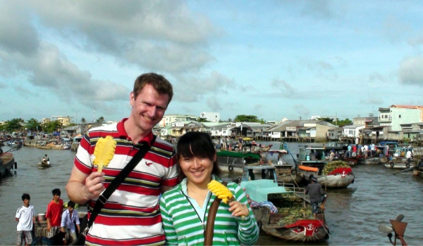 Car rental from Ho Chi Minh City to Cai be Floating Market